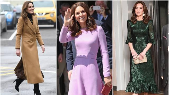 Prešišala Meghan: Middleton je najveća kraljevska modna ikona