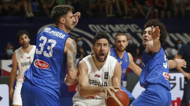 FIBA Olympic Qualifying Tournament Final - Serbia v Italy