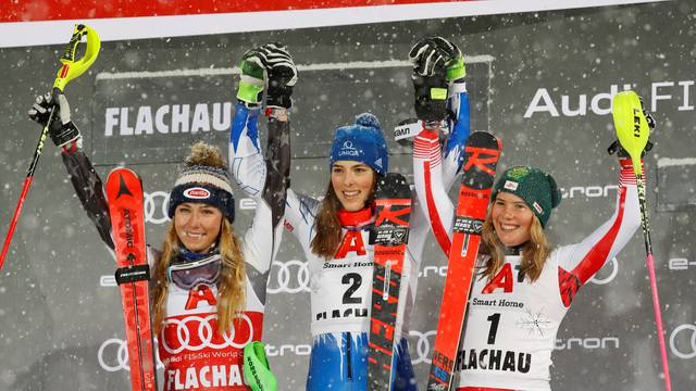 Alpine Skiing World Cup - Women's Slalom