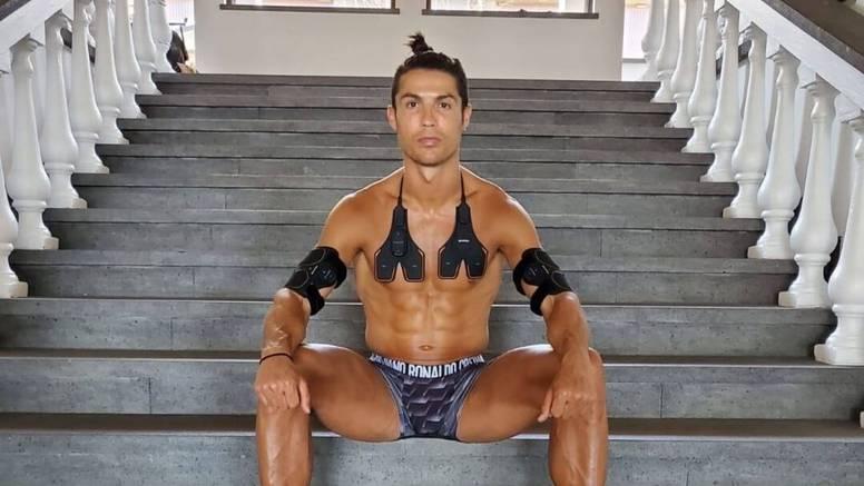 Karantena? Nema problema! Ronaldo je i dalje kao isklesan