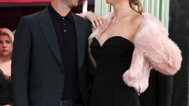 USA - Adam Levine Hollywood Walk of Fame Star Ceremony - Los Angeles