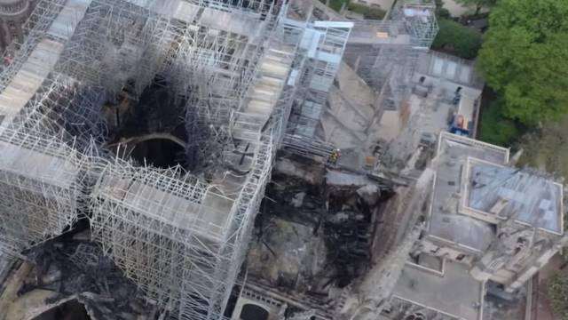 Nevjerojatne snimke iz zraka: Notre Dame dan nakon požara