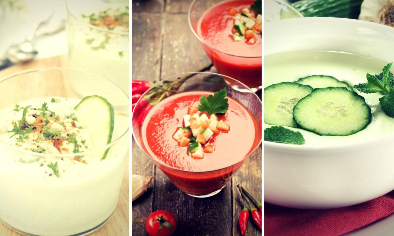 Hladne juhe: Započnite obrok osvježenjem od ljetnog povrća