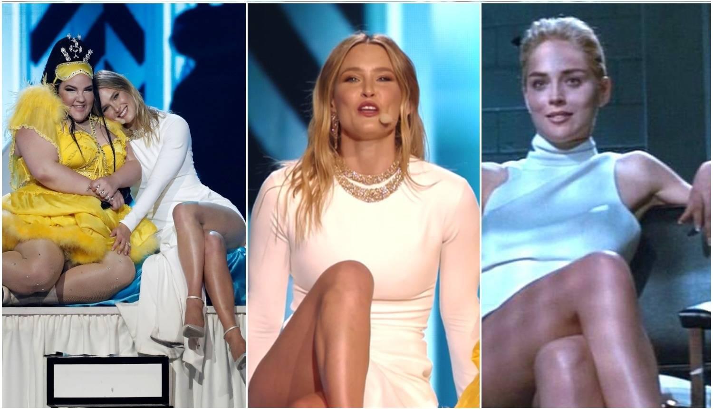 'Sirove strasti' na Eurosongu:  Voditeljica sjela i pokazala sve