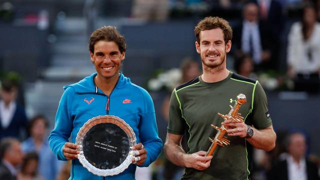Rafa Nadal V Andy Murray