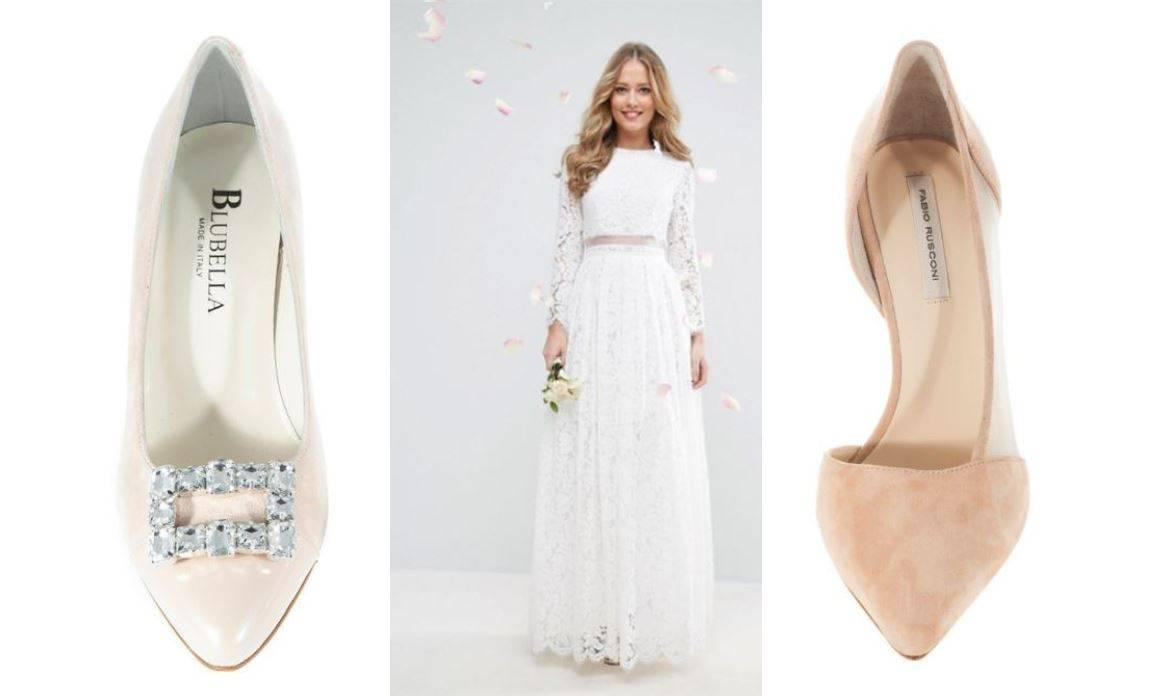 Bijele, vanilija ili bež: 10 pari elegantnih štikli za vjenčanje