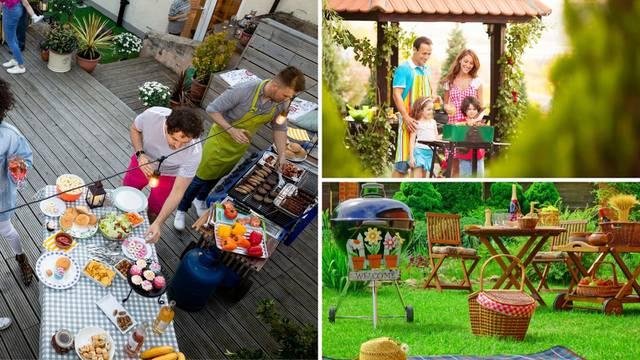 Top 20 ideja kako urediti kutak u vrtu za roštiljanje i opuštanje