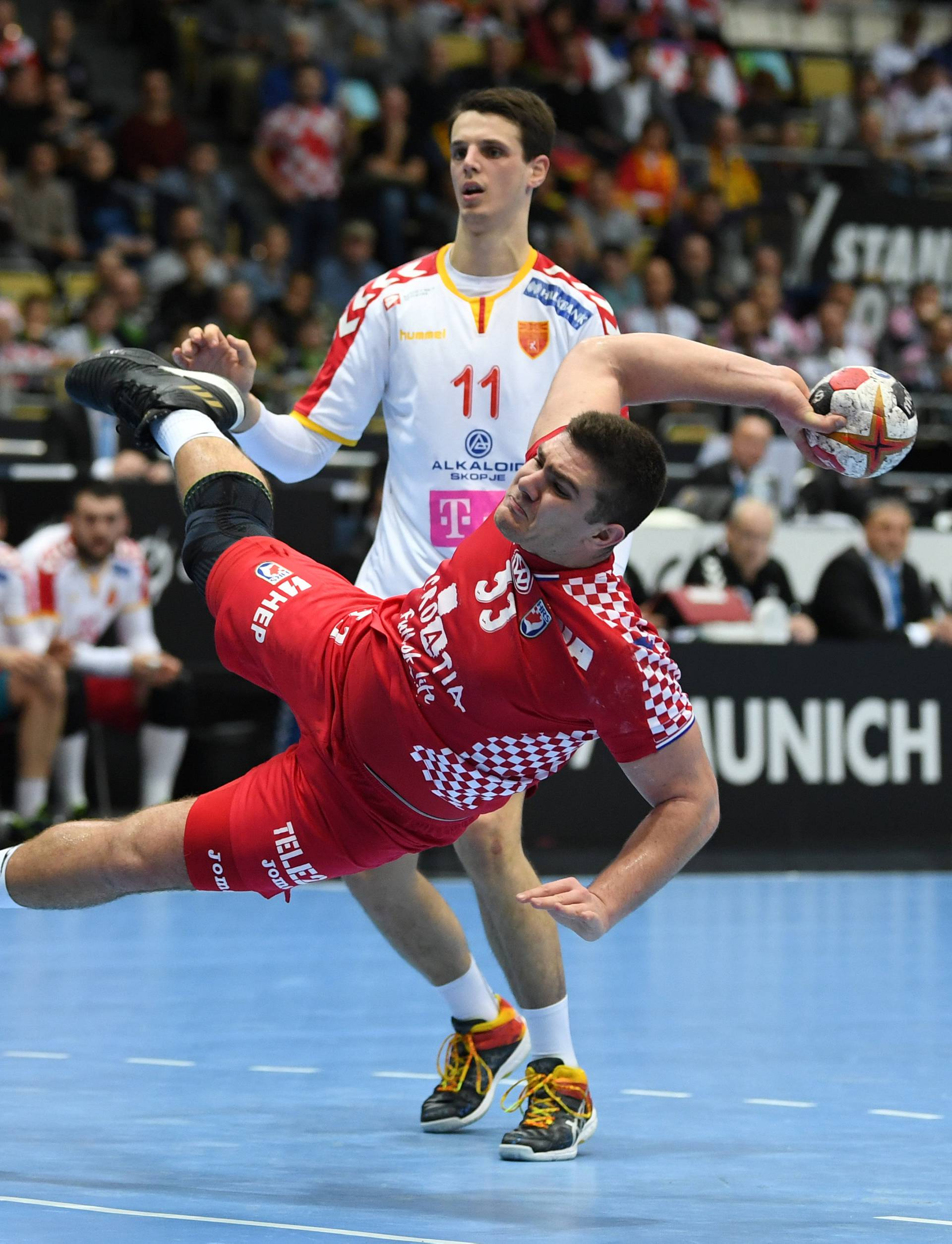 IHF Handball World Championship - Germany & Denmark 2019 - Group B - Croatia v Macedonia