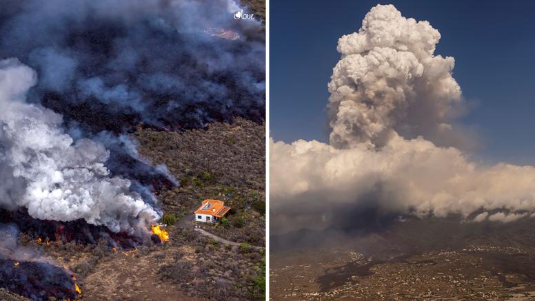 Prvi put zbog erupcije vulkana na Kanarima otkazali i letove