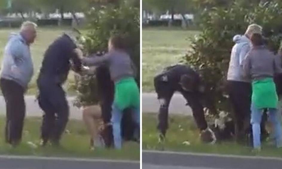 Video: Mahao nožem na cesti u Zagrebu, dobio uvjetnu kaznu