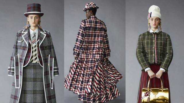 Lutkice u kariranim kostimima: Thom Browne ima nove ideje
