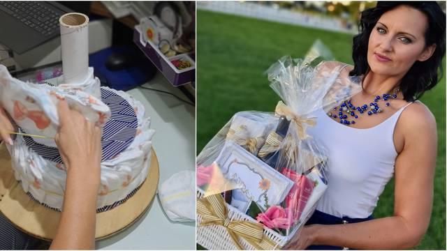 Hrabra Monika usred korone otvorila biznis: 'Peče' torte od pelena za novopečene mame!