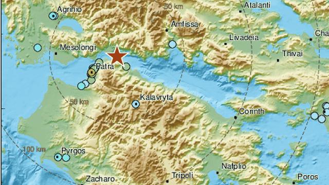 Potres u Grčkoj jačine 5,4 po Richteru: 'Bilo je zastrašujuće!'