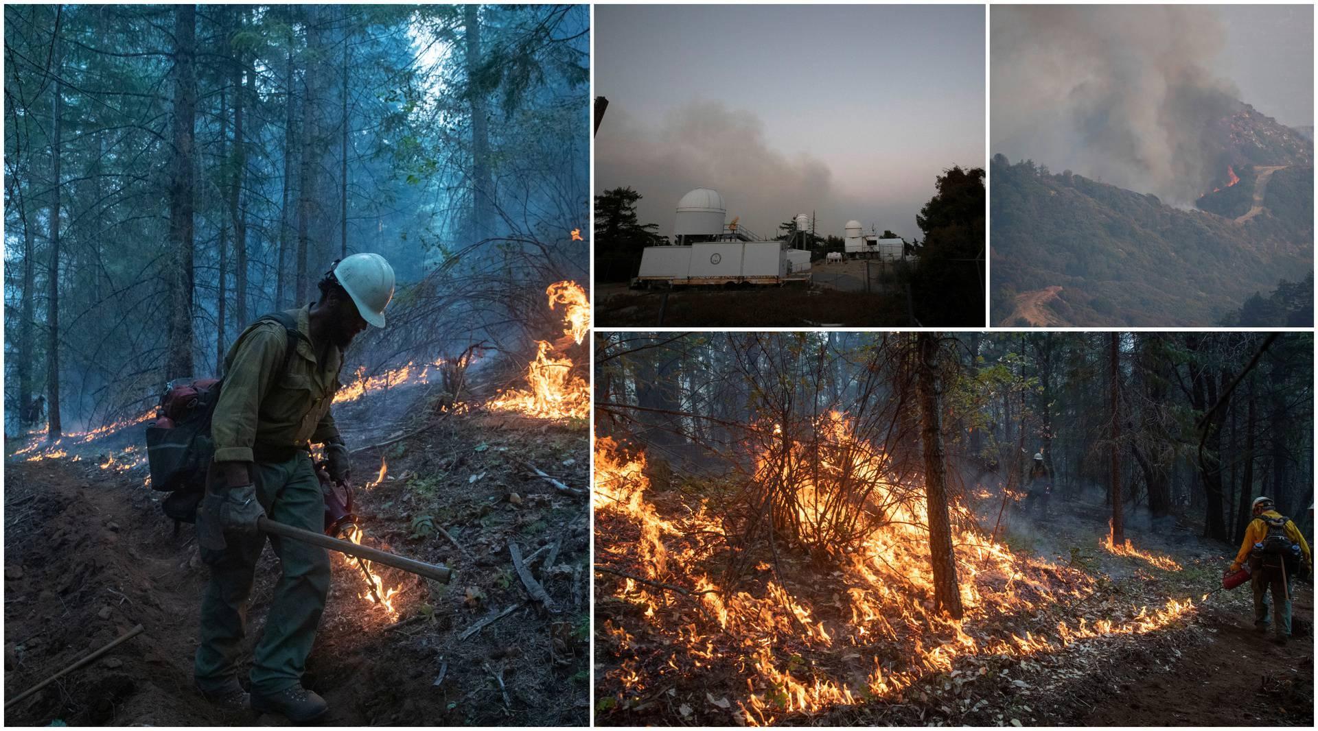 Požar prijetio i poznatom opservatoriju u okolici LA-a, žeravicu gasili buldožderom