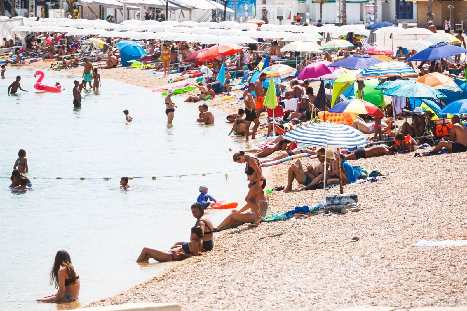 Plaža Zrće u srcu sezone