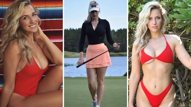 Seksi golferica! Predivna Paige mami uzdahe na terenima...