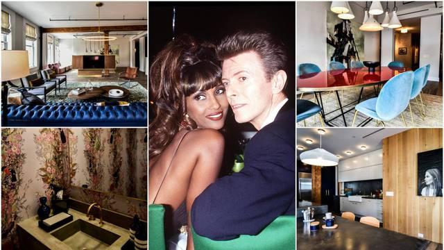 Bili smo u stanu Bowieja: Raj od 300 m2 krase cvjetne tapete, umjetnine, note i modri kauč