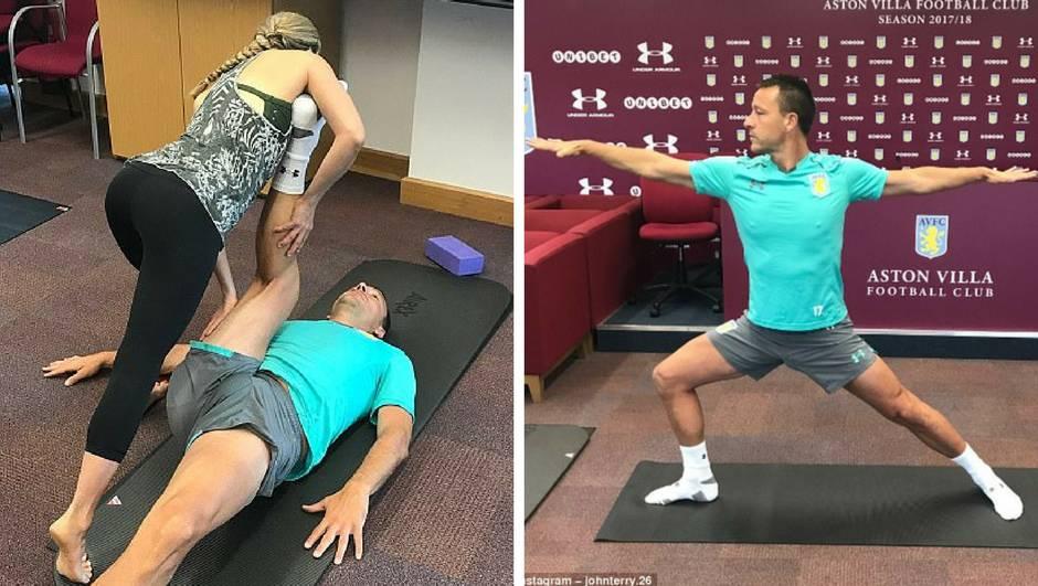 Rastegni me nježno: Kad John Terry krene na satove joge...