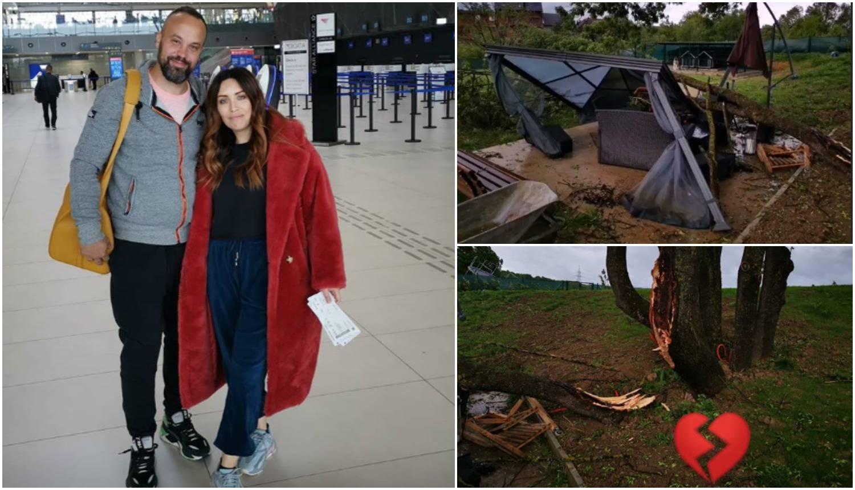 Uplakana Lana: 'Uništeno mi je dvorište, više nemam ni terasu'