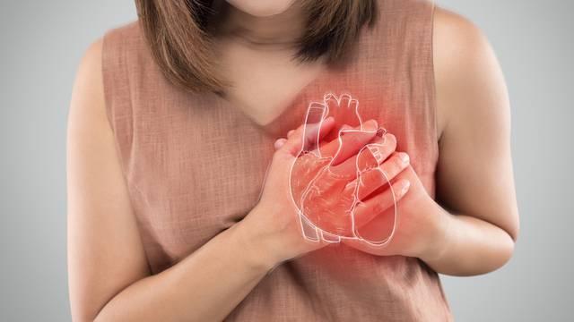Žene imaju drugačije simptome infarkta, jave se tjednima prije