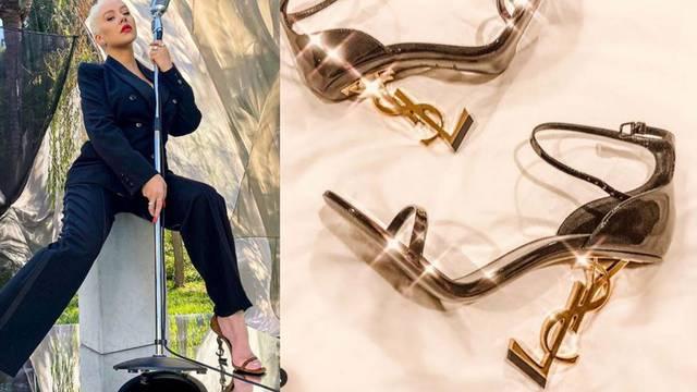 Christina Aguilera ima omiljene štikle: YSL s ludom potpeticom