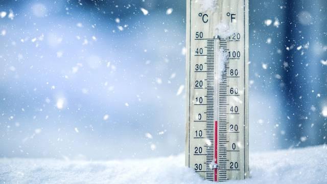 Krenula od susjedove kuće i smrzla se na -40 stupnjeva