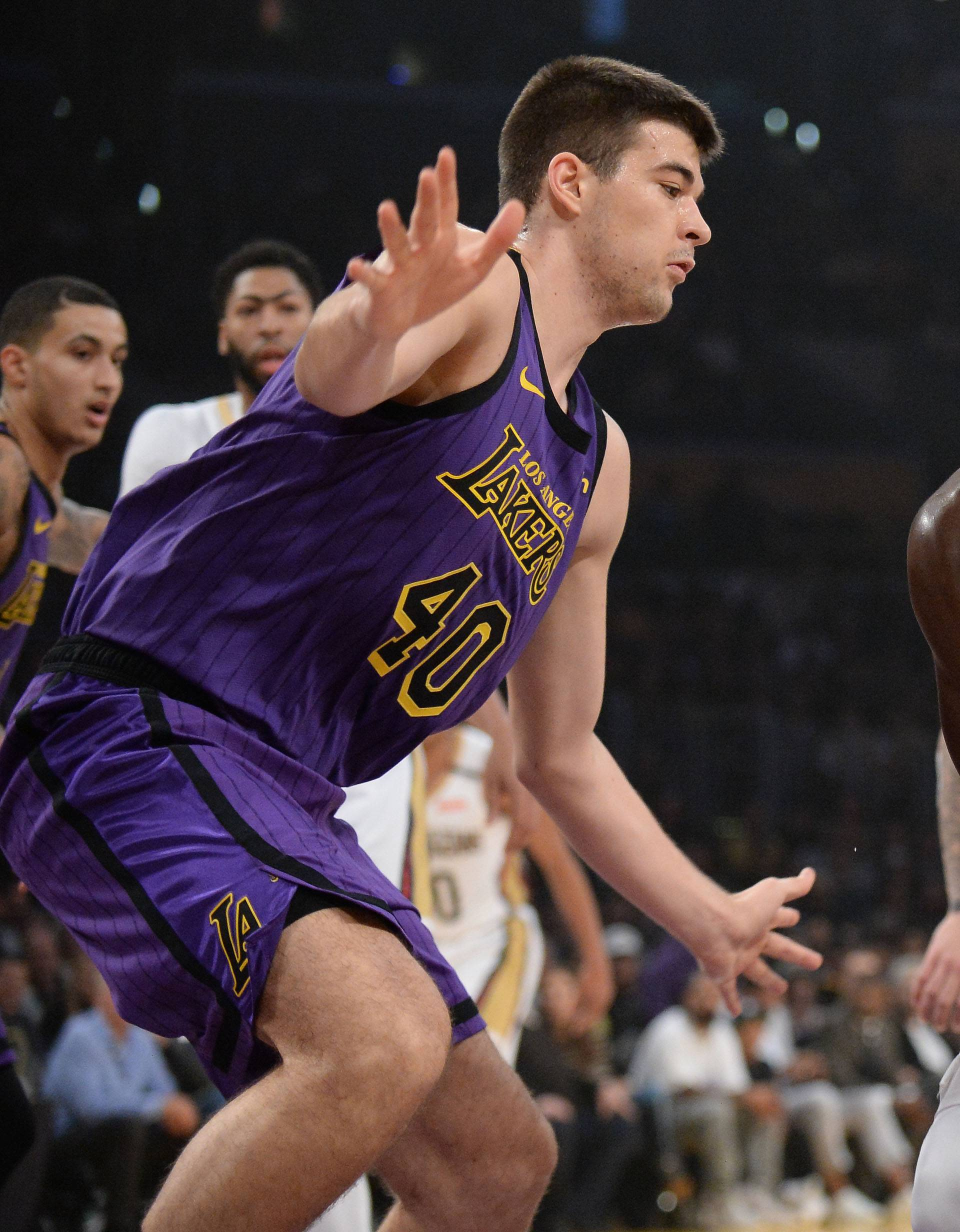 NBA: New Orleans Pelicans at Los Angeles Lakers