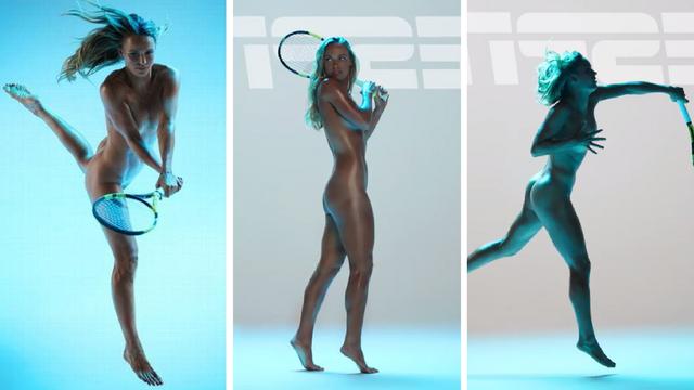 Skroz je gola! Nekadašnja prva tenisačica svijeta sve pokazala