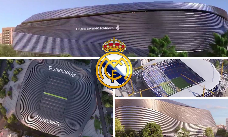 Najbolji stadion svijeta! Real si gradi novi 'Santiago Bernabeu'