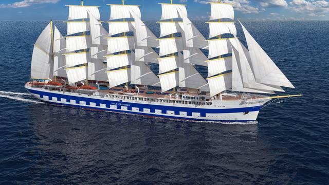 Prava morska ljepotica: Mega jedrenjak  zaplovit će iz Splita