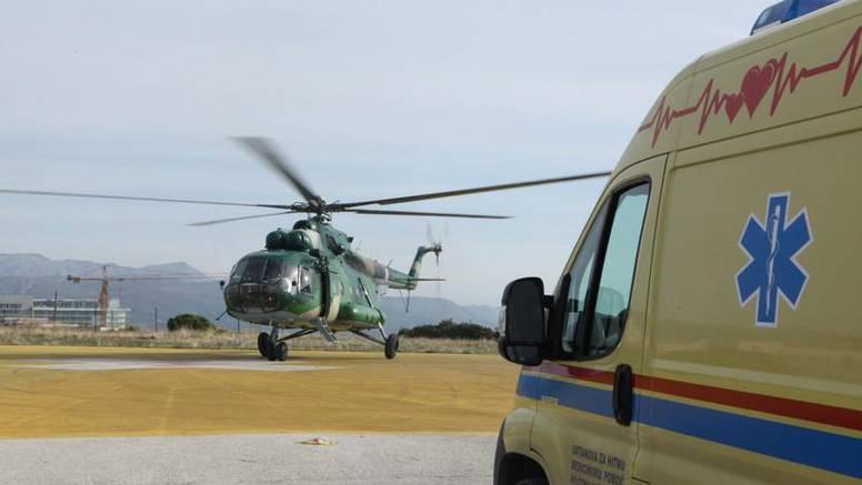 Žena s Korčule je rodila sina u helikopteru na putu do Splita