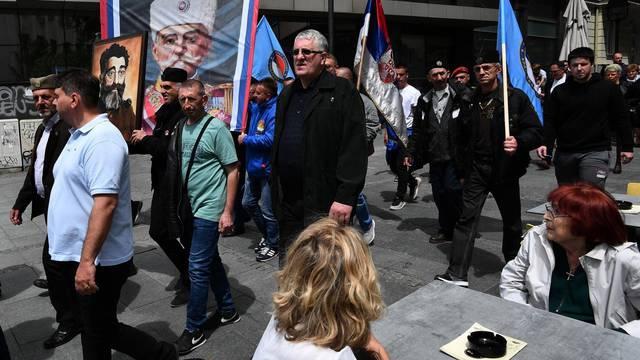 Pokret obnove Kraljevine Srbije održao šetnju u čast Draži Mihajloviću