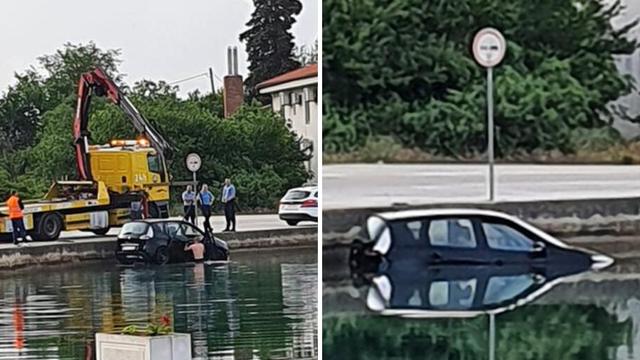 Vozač (29) izgubio kontrolu u zavoju i upao u more u Zadru