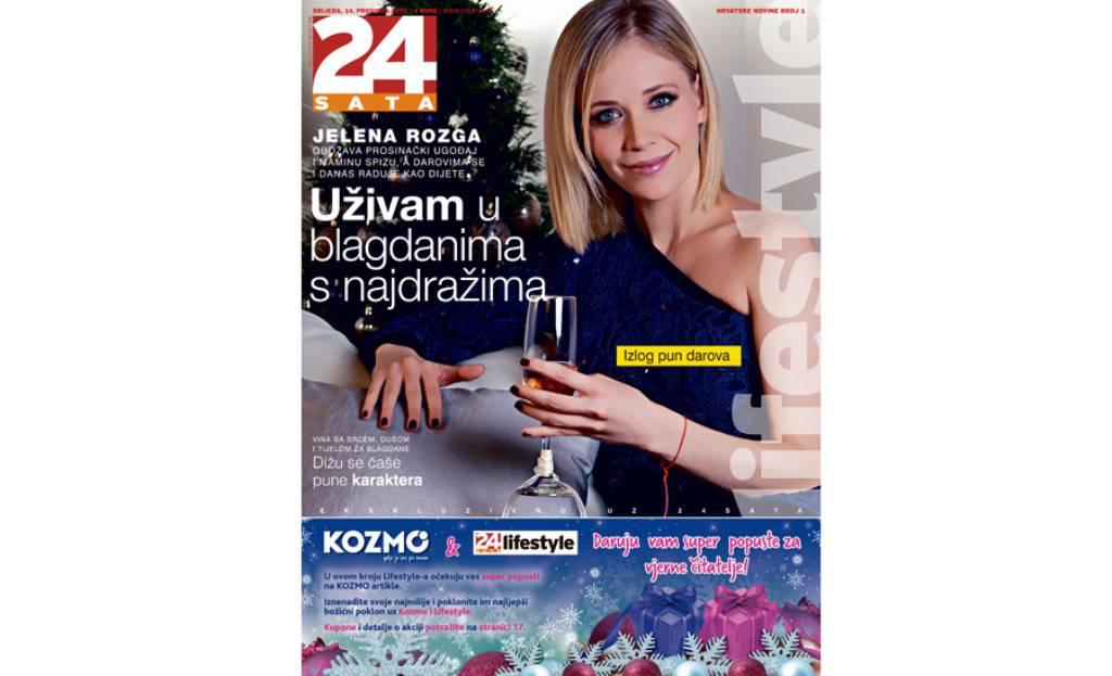 U srijedu, 14.12. ne popustite raskošni broj 24sata Lifestyle!