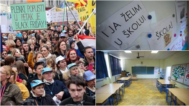 Štrajk i dalje na snazi, Divjak: Nastavna godina će biti duža