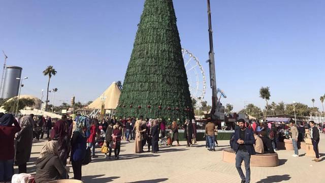 Božićna jelka u Bagdadu