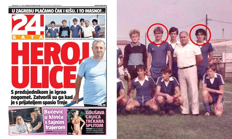 Tihomir s predsjednikom igrao nogomet, a zatvorili su ga kad je s prijateljem spasio Trnje...