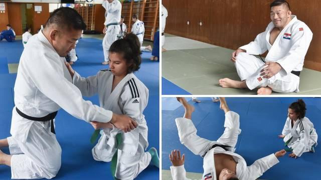 Satoshi, ljudino! Učio je ljude s invaliditetom judo u Gorici...