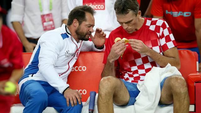 Davis Cup, Hrvatska - Argentina