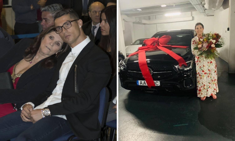 Ronaldo usrećio majku: Kupio joj Mercedes za Majčin dan...