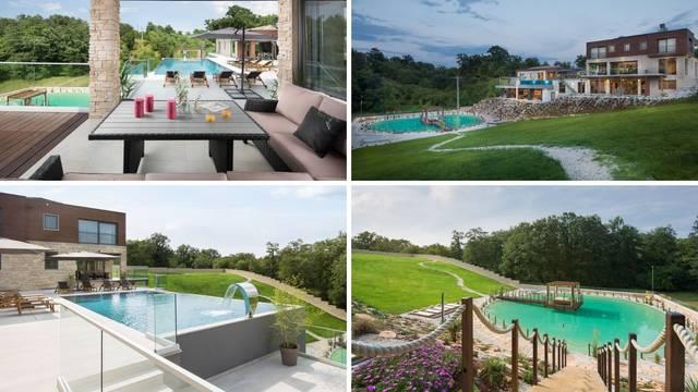 Egzotična vila za odmor u Istri: Ima svoj wellness, bazen, jezero i vinski podrum za puni užitak