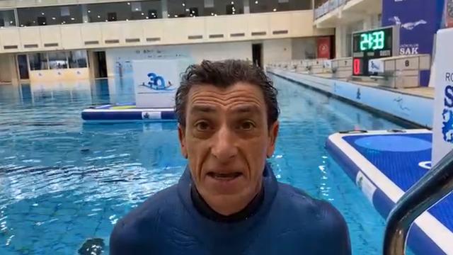 Budimir Šobat Buda oborio Guinnessov rekord u držanju daha: 24 minute i 33 sekunde
