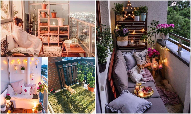Inspirirajte se: Pretvorite svoj mali balkon u oazu opuštanja