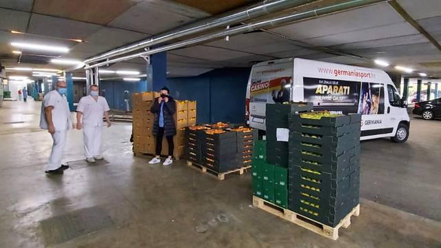 Germania donirala tonu voća liječnicima i osoblju KB Dubrava