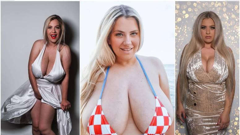 Navijačica Nina: Ponosna sam majka i supruga. Opseg grudi je 130 cm, neprestano mi rastu...