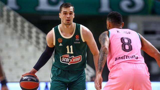Euroleague Basketball Saison 2020-2021 Olympiahalle OAKA Athen, 02.03.2021 Panathinaikos Athen - Barcelona 77:85 Mario H