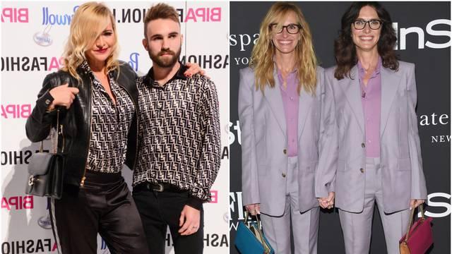 Poput Julije Roberts: I Mehun je došla s 'modnim blizancem'