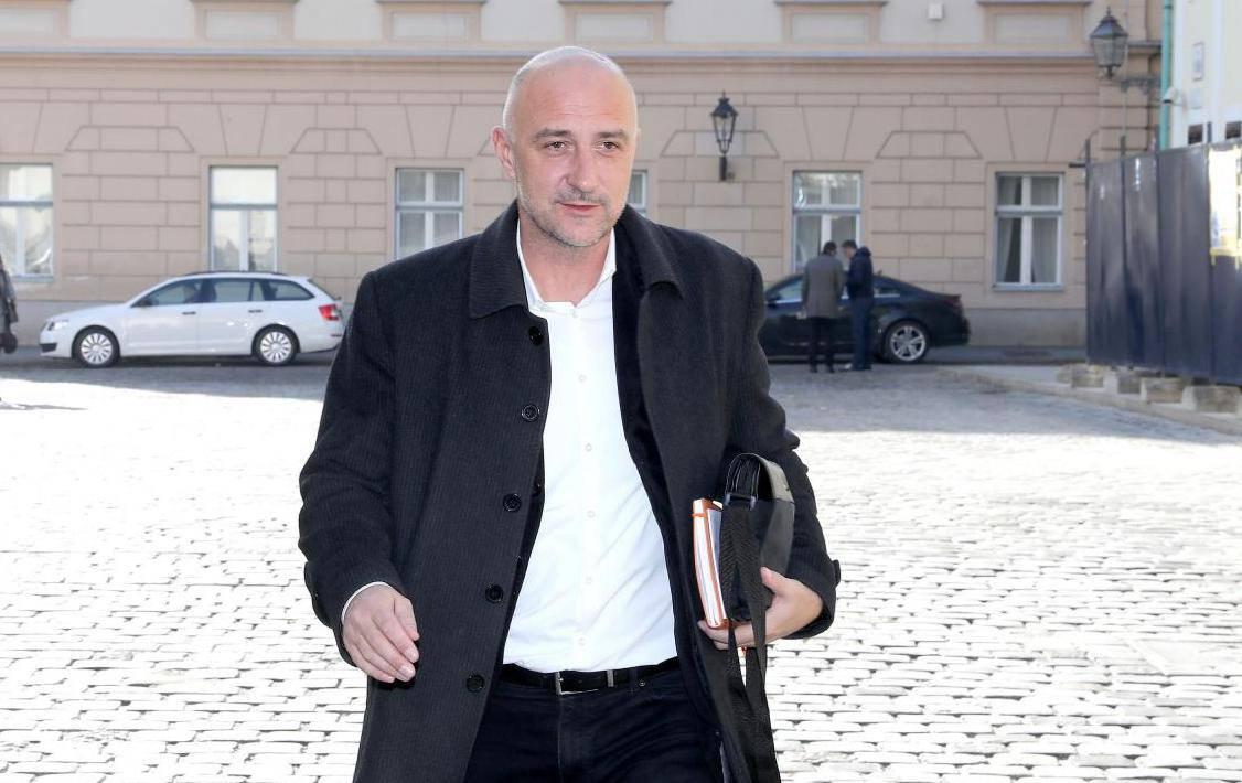 Zagreb: Dolazak članova vladajuće koalicije na sastanak u Banske dvore