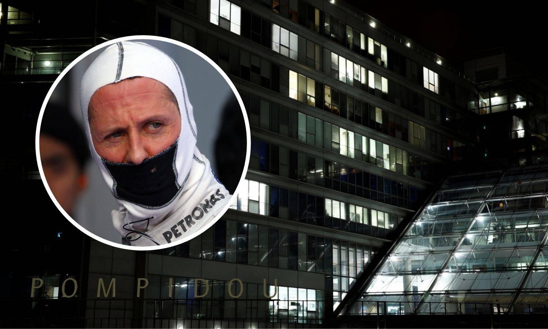 Schumi redovito odlazi u Pariz u bolnicu, pod lažnim imenom