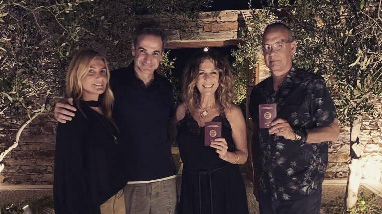 Tom Hanks i žena Rita postali su grčki državljani: 'Tamo je raj...'